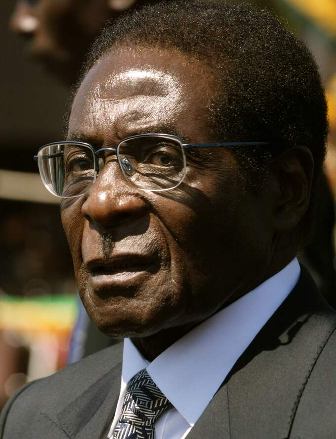Zimbabwes president Robert Mugabe. Foto: STR / AP