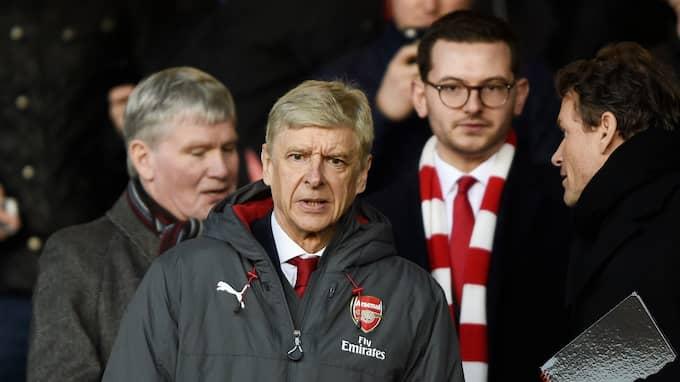 Arsenals manager, Arsène Wenger. Foto: HOBLE/PROSPORTS/REX/SHUTTERSTOC / HOBLE/PROSPORTS/REX/SHUTTERSTOCK REX FEATURES