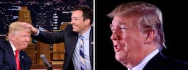 """Trump i öppet bråk med   Fallon: """"Var en man!"""""""