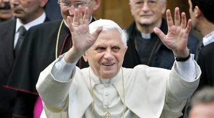 Påven Benedictus XVI skrädde inte orden när han attackerade homosexuella i ett tal i Vatikanen. Foto: Jasper Juinen