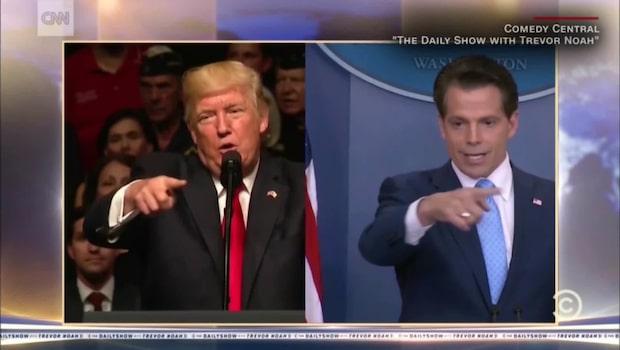 Anthony Scaramucci och Donald Trump - lika som bär