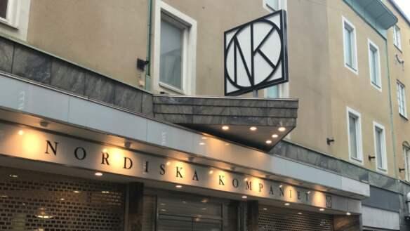 Stöldkupp mot NK i Göteborg. Foto: Sanna Wikström