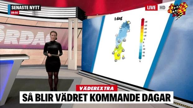 SMHI:s snövarning: Då kommer kaoset