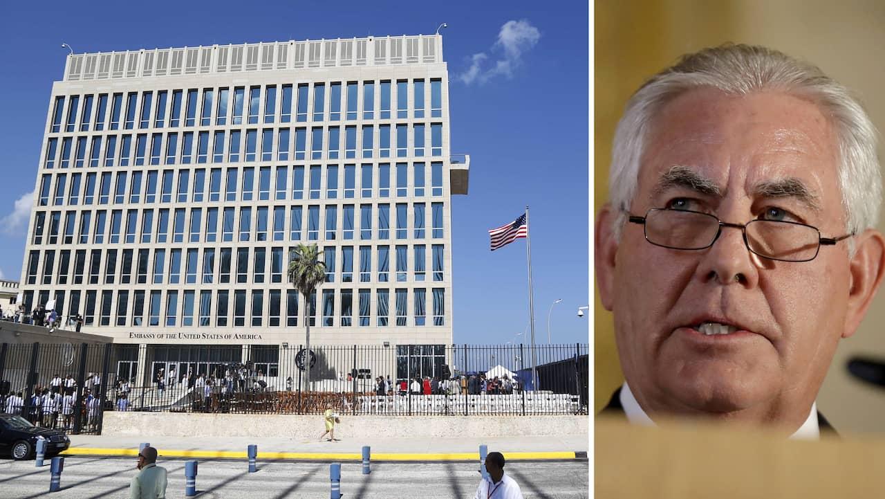 Misstankt bomb pa usas ambassad