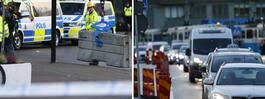 JUST NU: Trafiken stängs av inför EU-toppmötet