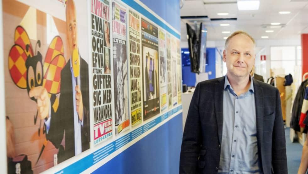 Jonas Sjöstedt (V) var först ut i K-G Bergströms partiledarintervjuer på Expressen TV. Foto: Alex Ljungdahl