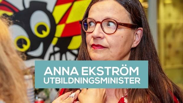 Bara politik: Se intervjun med Anna Ekström