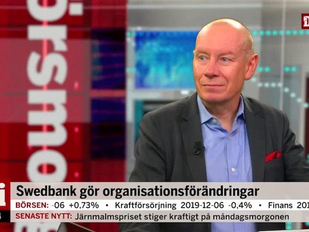 """Swedbank gör organisationsförändringar: """"Ganska väntat"""""""