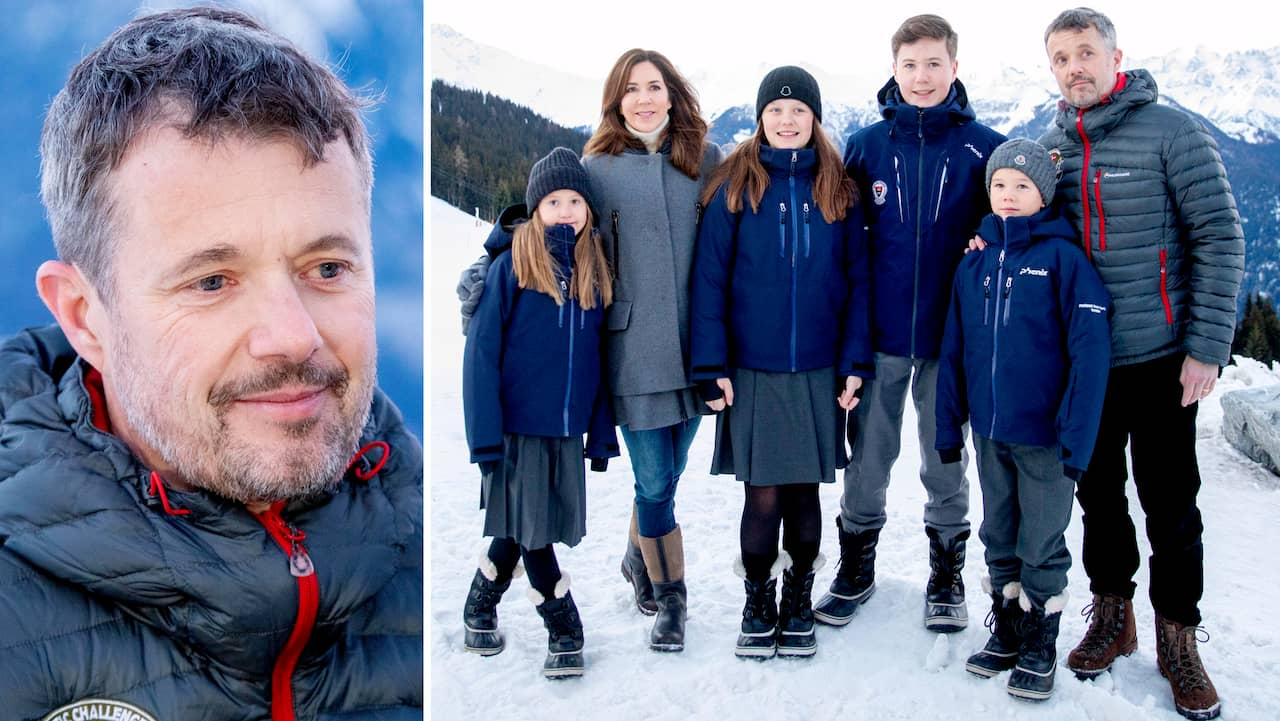 Kronprins Frederik skadad i skidolycka