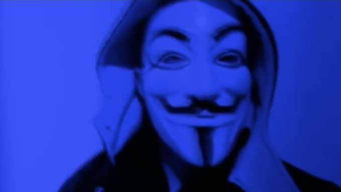 """""""Vårt team ASW, Anonymous spy warriors, tog det här väldigt seriöst eftersom Robin var en av våra följare och en sann hjälte"""", skriver en Anonymous-medlem till Expressen. Bilden är tagen vid ett annat tillfälle."""