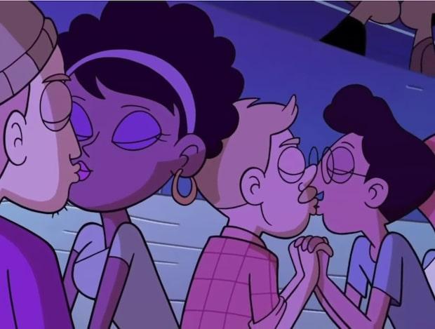 Den här Disney-serien är banbrytande - på grund av en puss