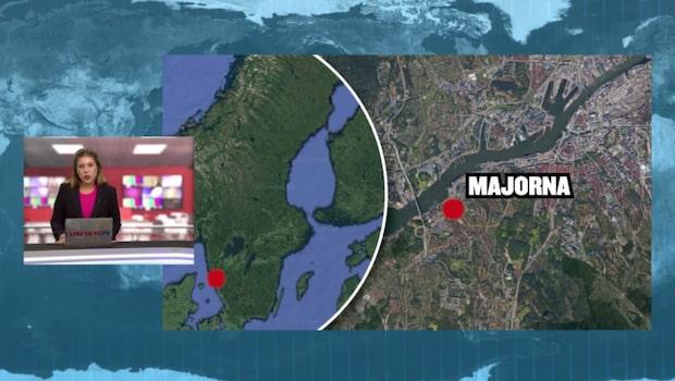 Maskerade män söks  efter två bilbränder i Majorna