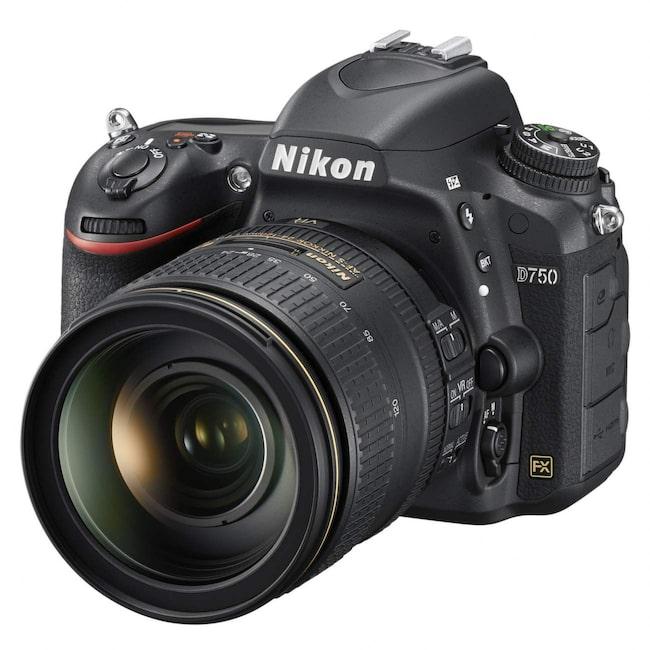Nikon D750.