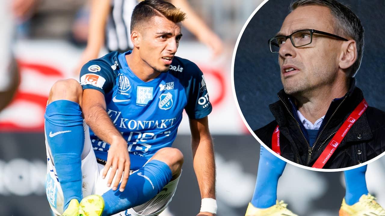 """AVSLÖJAR: Efter mardrömsskadan – följs av IFK Göteborg: """"Väldigt smickrande"""""""