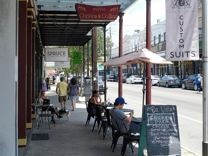 Magazine Street är en av USA:s mest trivsamma shoppinggator och den är lång, närmare 8 kilometer.