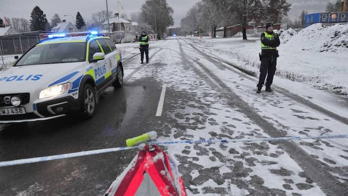 Polisen genomförde en husrannsakan i Hells Angels näste efter det misstänkta mordet. Foto: David Hårseth