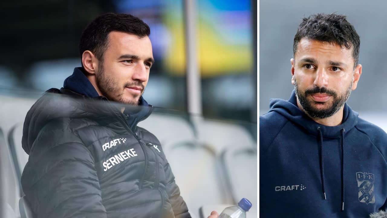 Kharaishvili missar matchen mot Malmö