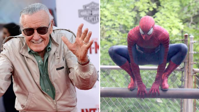 Serieskaparen Stan Lee, 95, som ligger bakom Marvelhjältar som Spiderman, X-Men och Black Panther har stämt ett bolag på 1 miljard dollar Foto: KM/FAMEFLYNET PICTURES / STELLA PICTURES / JOSE PEREZ, PACIFICCOASTNEWS.COM / STELLA PICTURES PACIFICCOASTNEWS.COM