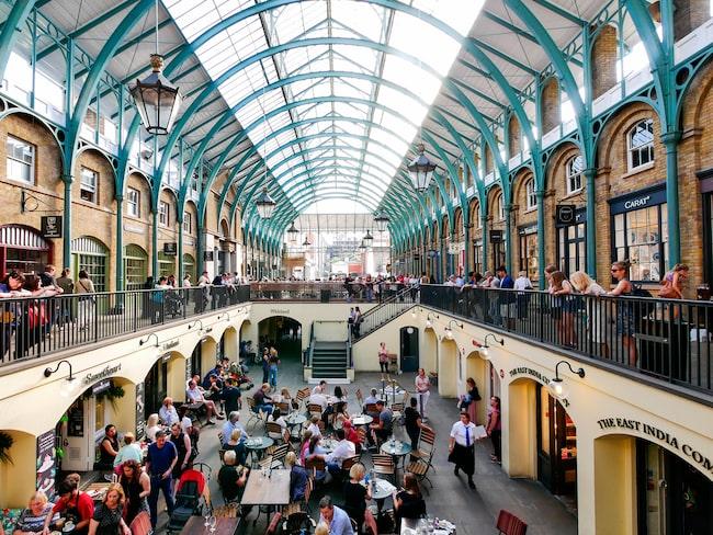 Covent Garden, det är hit du ska ta ditt bord och ditt middagssällskap.