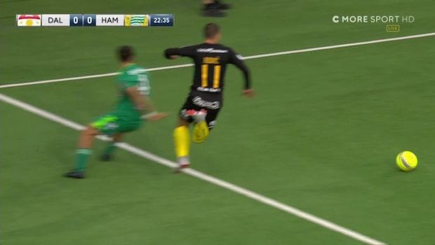 Hammarby gör 1-0 –efter omdiskuterad situation