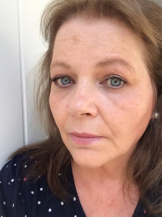 Efter förseningarna – Brigitte Cardemyr, 58, slutar åka tåg. Foto: Privat