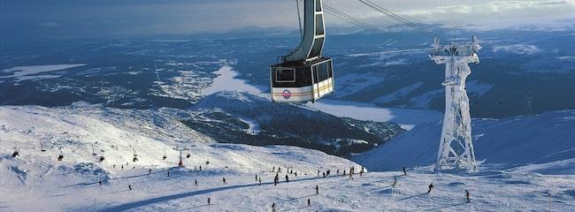 ÅRE. Ett svenskt vinterparadis. Här finns Sveriges mesta skidåkning.