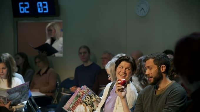 """Riksteaterns """"Sång till välfärden"""" hade premiär i Sollefteå. Foto: Chantale Hannouch"""