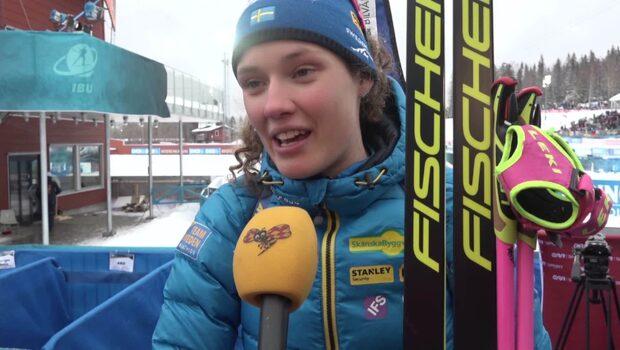 """Hanna Öberg: """"Jag är inte helt nöjd"""""""