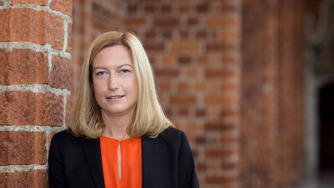 Katarina Luhr, miljöborgarråd i Stockholms stad. Foto: Foto: Karin Röse