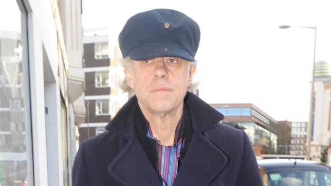 Bob Geldof lämnar tillbaka sin utmärkelse i protest mot att... Foto: PACIFICCOASTNEWS / STELLA PICTURES PACIFICCOASTNEWS