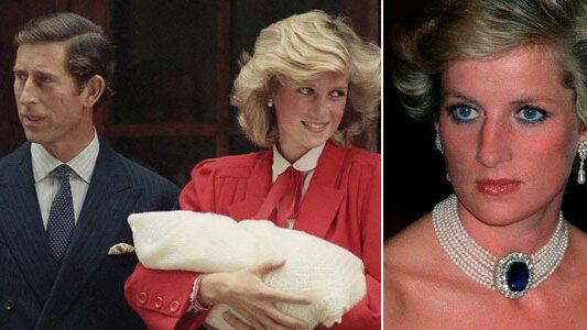 Prinsens ord vid födseln gjorde Diana förkrossad