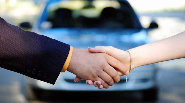 Handeln med begagnade bilar ökar.