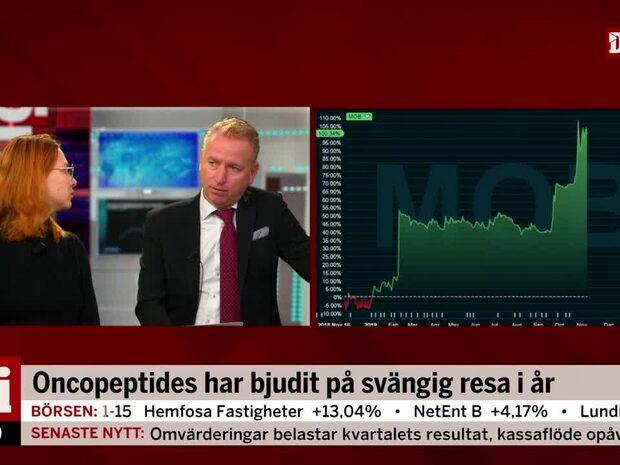 Jonas Olavi om tisdagsmorgonens rapporterande bolag