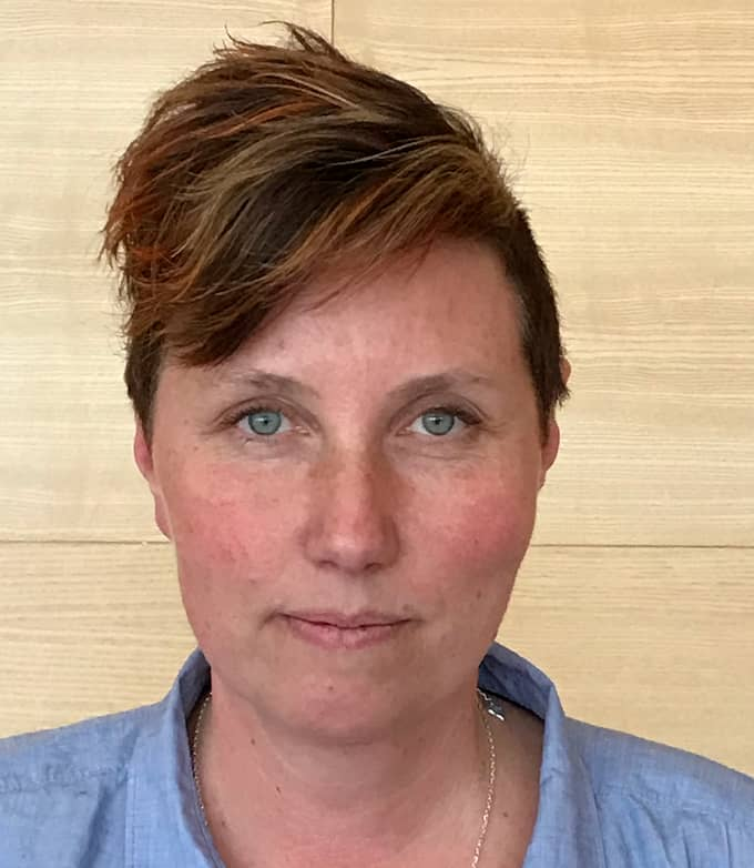 Undersköterskan Anna Skarsjö blev upprörd när hon såg annonsen. Foto: Privat