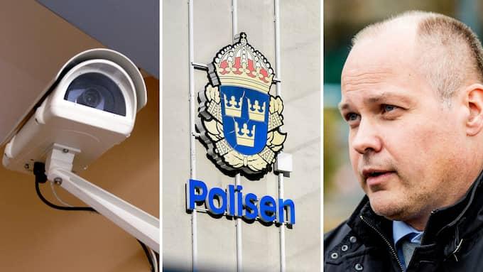 Att polisen ska få rätt att sätta upp övervakningskameror utan tillstånd är inte något som regeringen behöver dra i långbänk. Foto: NICLAS TILOSIUS, ALEX LJUNGDAHL/EXPRESSEN & CHRISTIAN ÖRNBERG