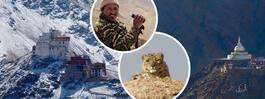 """På spaning efter snöleoparder i """"lilla Tibet"""""""