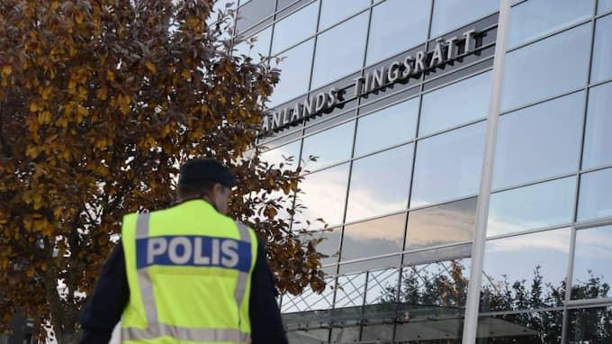Rättegången fortsätter på fredagen. Foto: Pontus Lundahl/Tt