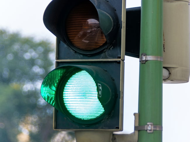 På så sätt ska man alltid kunna pricka grön signal.