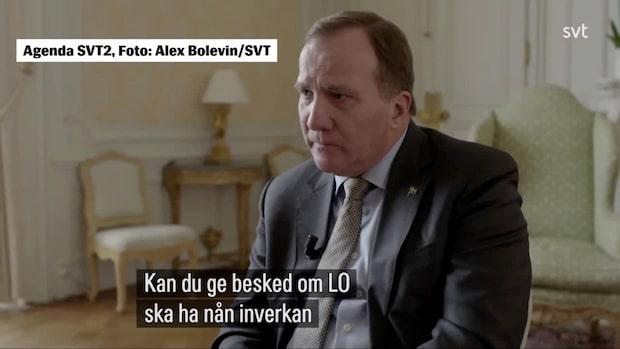 Stefan Löfven vill göra en ny utredning om arbetsrätten