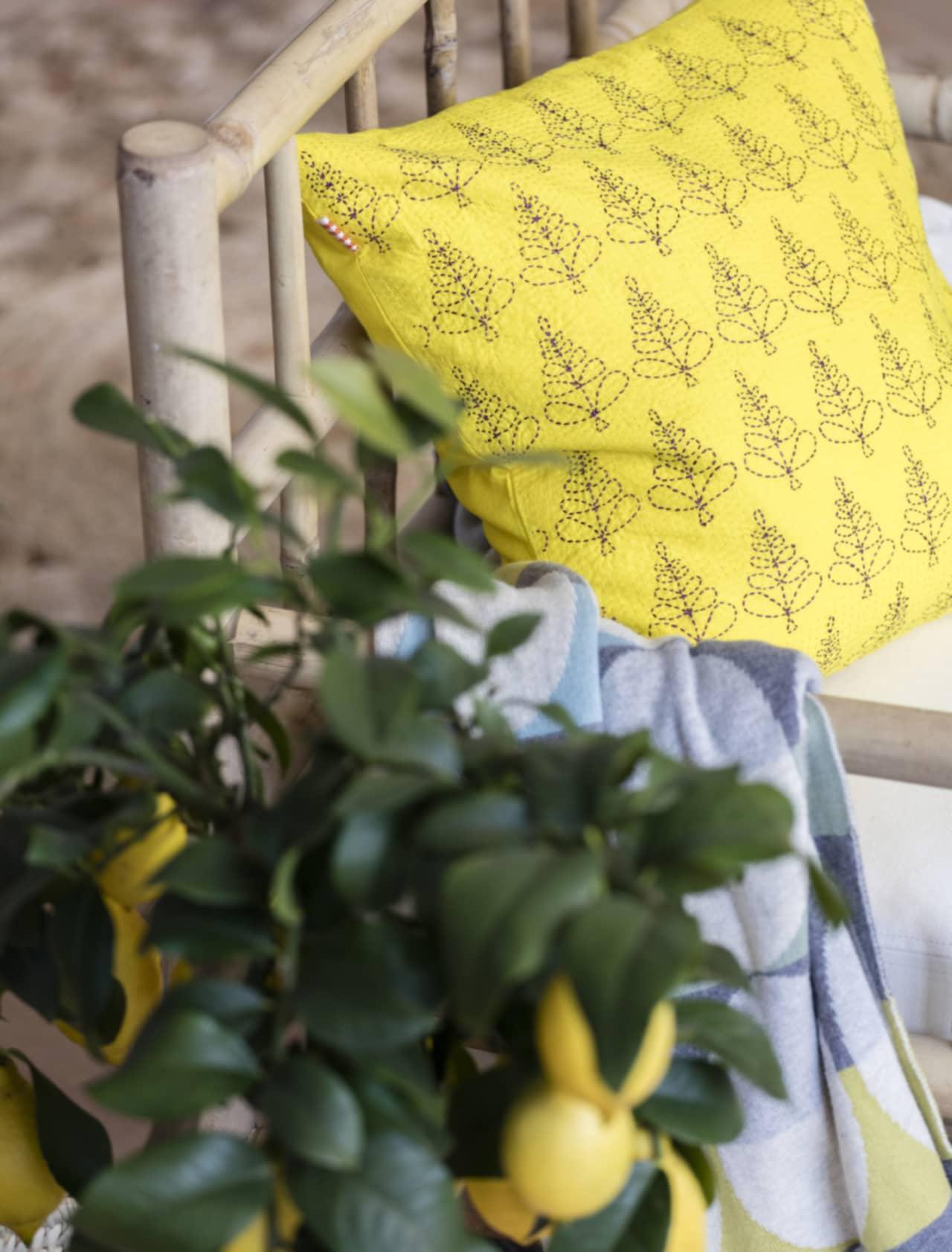 Rustikt vardagsrum – härlig inspiration!