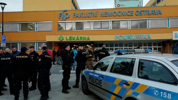 Flera döda efter skjutning på sjukhus i Tjeckien