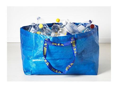 Trodde du att Ikea-kassen bara var för att förvara grejer i?