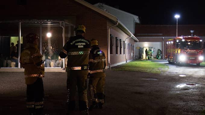 Ett upplopp utbröt på ett LVM-hem för missbrukare, Foto: Stefan Reinerdahl