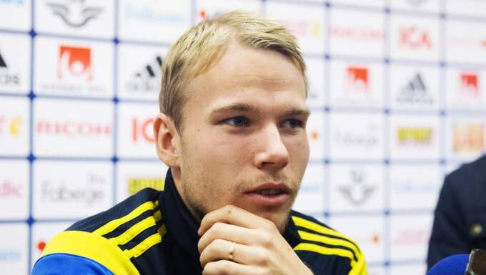 Oscar Lewicki. Foto: Nils Petter Nilsson