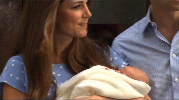 Prins George blir namnet på den nyfödda prinsen