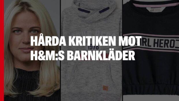 Nya ilskan mot H&M:s barnkläder