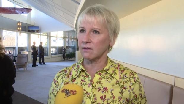 """Margot Wallström (S): """"Första gången de visar enighet i Alliansen"""""""