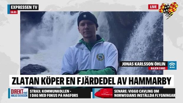Så tycker Bajen Fans om Zlatans ägande i Hammarby