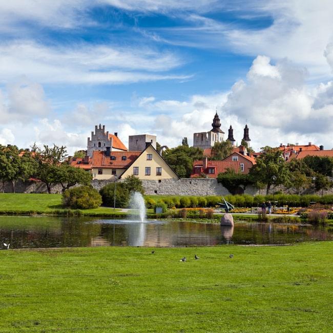 Visby på Gotland är en av Europas vackraste städer.
