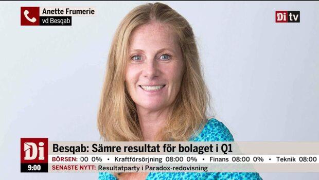 """Besqabs vd: """"Marknaden är avvaktande"""""""